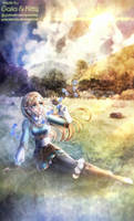 Zelda (The Legend of Zelda: Breath of the Wild) by kgfantasy