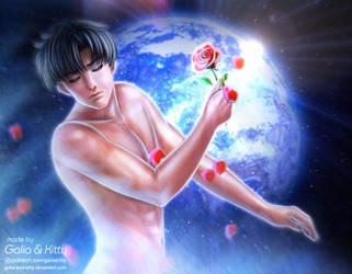 Earth God (Mamoru/Tuxedo Mask/Endymion) by kgfantasy