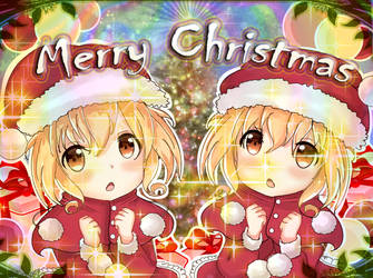 Holiday Twins Merry and Christmas by Kyomeiyu
