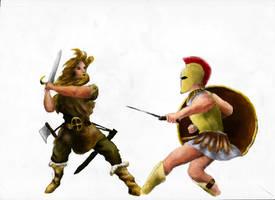 Age of Mythology wip by Aventius