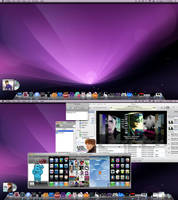 March Desktop: Mac Theme 2.0.2 by ayeesiks