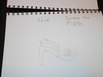My Shoe by EbonyCrimsonRose