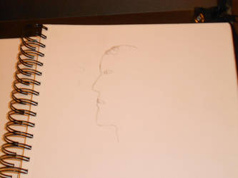 Classmate side profile by EbonyCrimsonRose