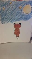 Mangetsu Kitsune by EbonyCrimsonRose