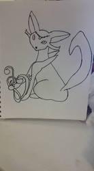 Second Draft of The Princess of Love and Music by EbonyCrimsonRose