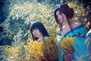 Hone Onna and Enma Ai by Pugoffka-sama
