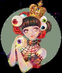 Eye-ball Princess by Rin54321