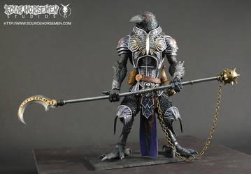 Black Raven Warrior by FourHorsemenStudios