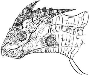Beaky Boi Dragon by Blocko-maniac