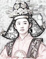korean queen by SalazarViperin