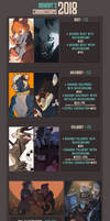 [closed] Commissions 2018 by MOHNOT