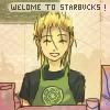 Demyx at Starbucks by emixoO