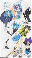 4122012 sketchbook doodles by KenDraw