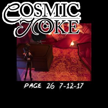 Cosmic Joke Update by KenDraw