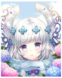 CM - Hydrangea by allreii