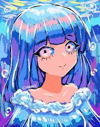 Pixel paint #1 by allreii