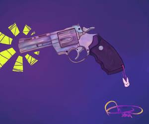 Crystal Pistol by Aalni