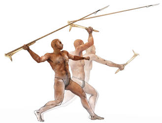 Propulsor de lanzas (Spear-thrower) by japa2