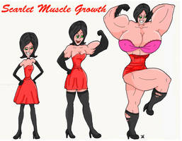 Scarlet Overkill muscle growth sequence by kimenguman