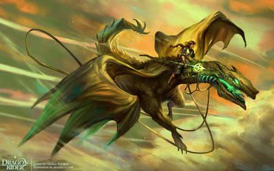 Dragon Rider by merillizaART