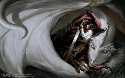 Dragon Bond by merillizaART