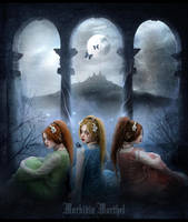 ...Moon Sisters... by MorbidiaMorthel