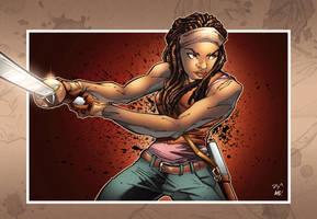 The Walking Dead Michonne By Chavana by chavana