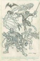 New Teen Titans by BobbyRubio