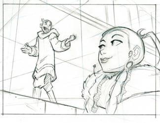 Avatar storyboard by BobbyRubio