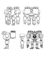 Robo Brigade 1 by BobbyRubio