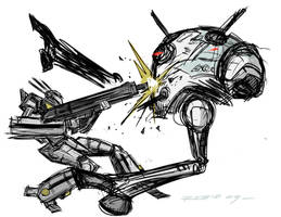 Robotech is on channel 5 by BobbyRubio