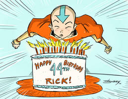 Avatar birthday card by BobbyRubio