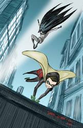 Gotham City Parkour by BobbyRubio