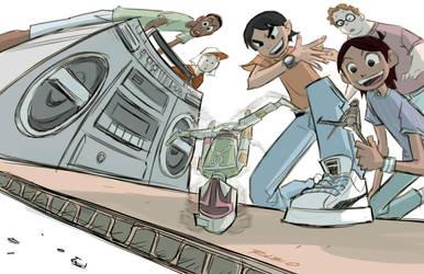 Empire Strikes Back Breakdance by BobbyRubio