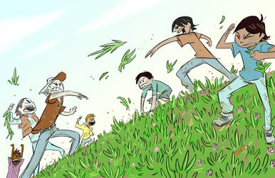 Ice Plant War by BobbyRubio