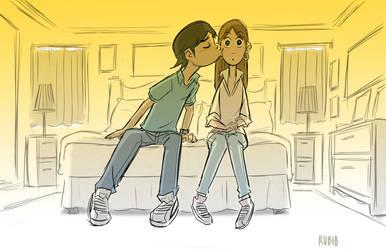 The Kiss by BobbyRubio