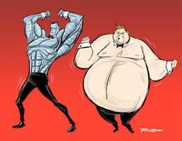 Colossus vs. Blob by BobbyRubio