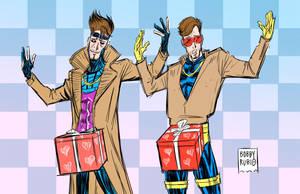 A very X-Men Valentine's by BobbyRubio