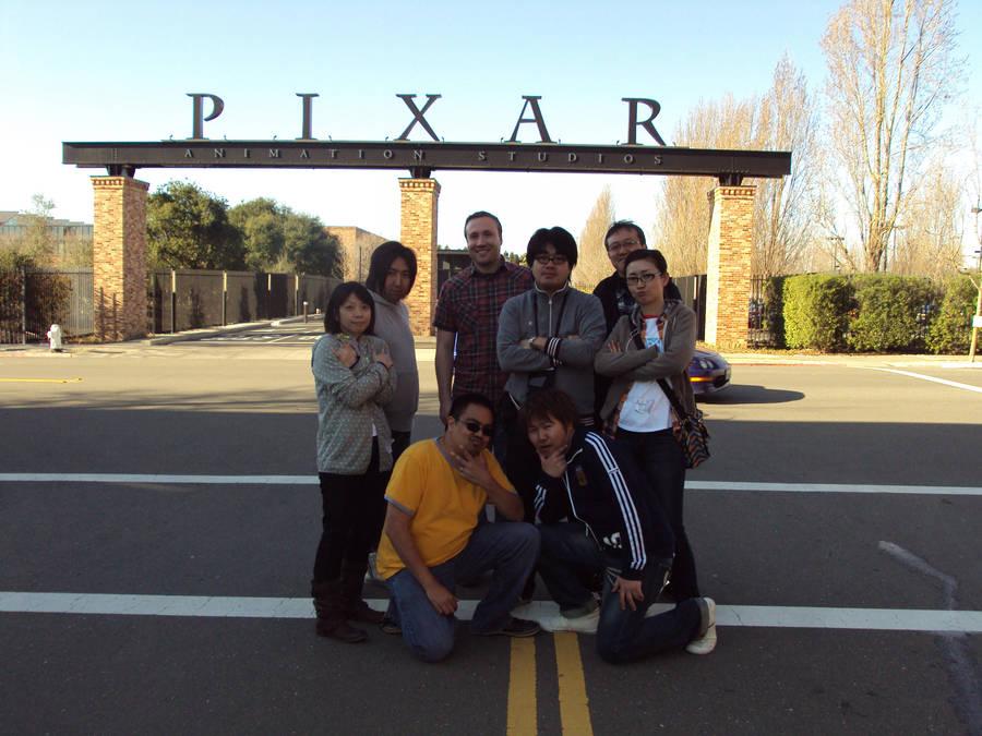 GAINAX at PIXAR by BobbyRubio