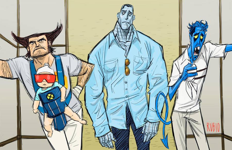 A Very X-Men Hangover by BobbyRubio
