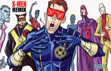 X-MEN REMIX by BobbyRubio