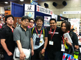 SDCC pic with GAINAX by BobbyRubio