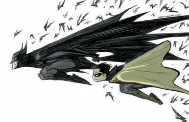 D. Bats and Robin by BobbyRubio