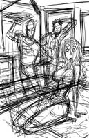 Red Hood and the Outlaws WIP by BobbyRubio