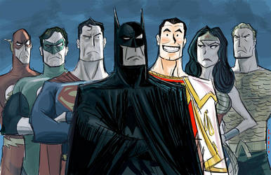 Justice League by BobbyRubio