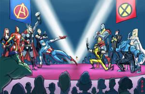Avengers vs. X-Men by BobbyRubio