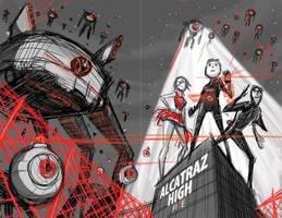 Cover Design C.1 for Alcatraz High by BobbyRubio