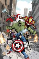 Avengers Assemble by BobbyRubio