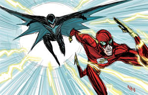 The Return of Nightwing and Flash by BobbyRubio