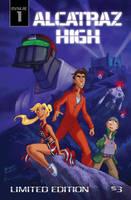 Alcatraz High #1 cover by BobbyRubio